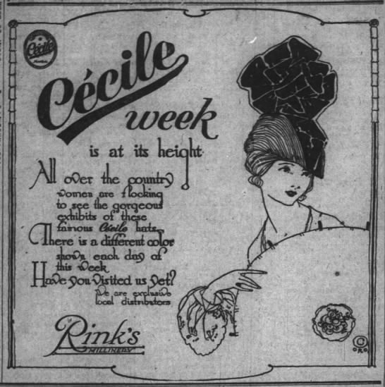 The Indianapolis News, 6 February 1919, p. 9.