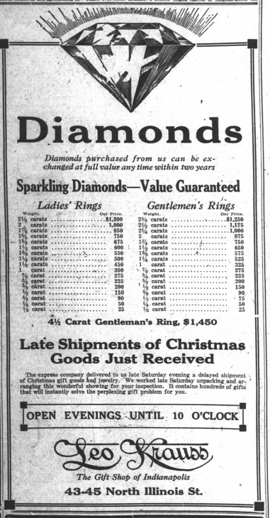The Indianapolis News, 22 December 1919, p. 5.