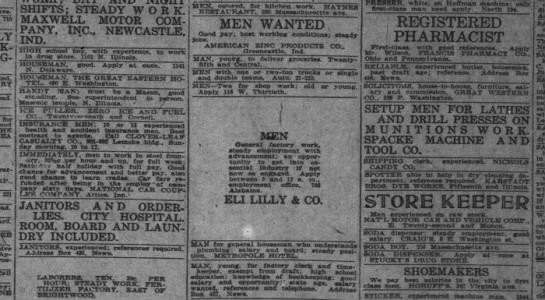 The Indianapolis News, 31 May 1918, p. 24