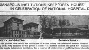 Indianapolis Institutions Keep 'Open House' in Celebration of National Hospital Day