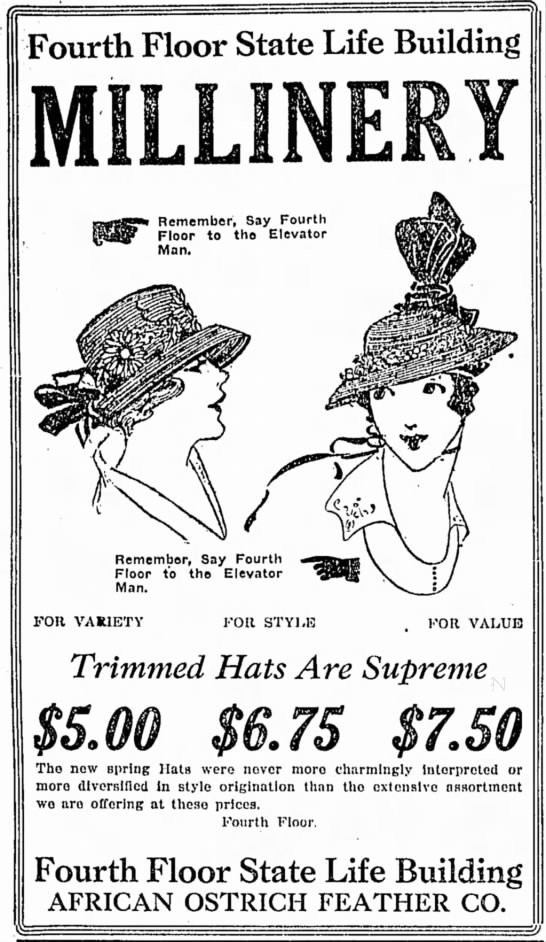 The Indianapolis Star, 25 March 1918, p. 14