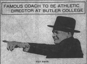 Famous Coach to be Athletic Director at Butler College