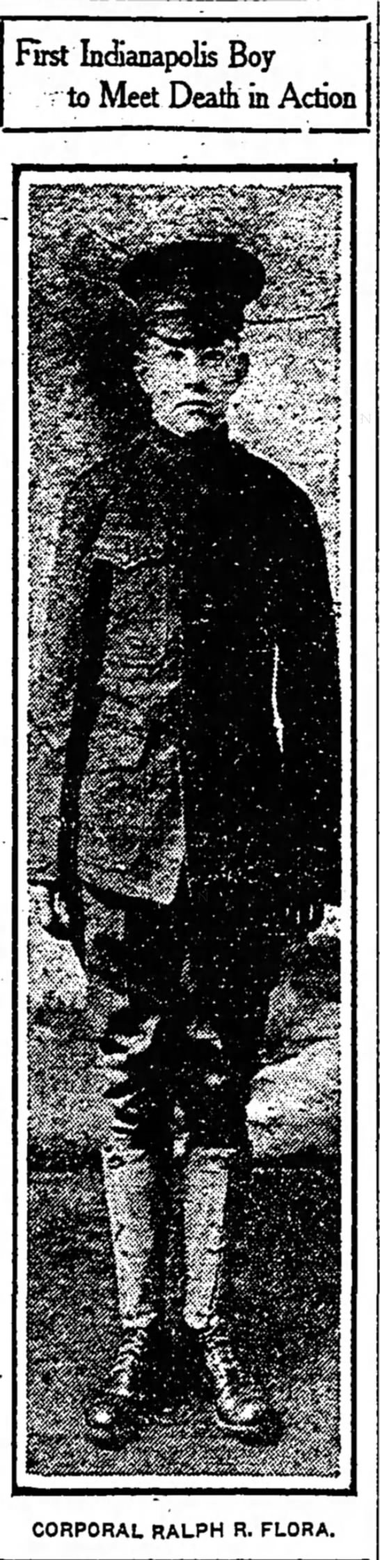 The Indianapolis Star, 12 March 1918, p. 1