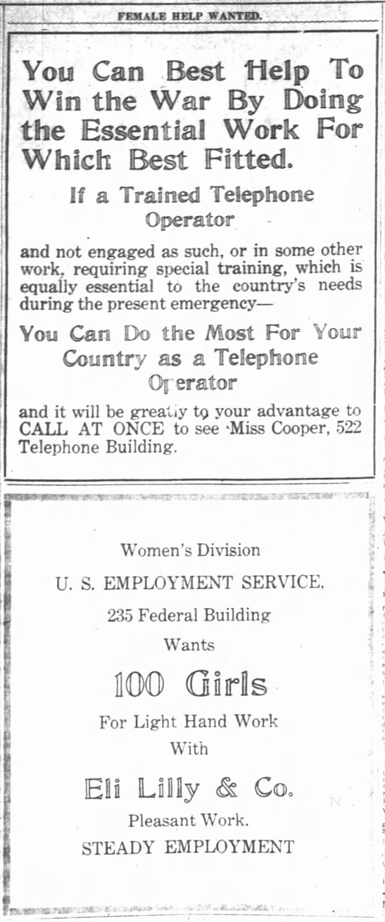The Indianapolis News, 9 November 1918, p. 21