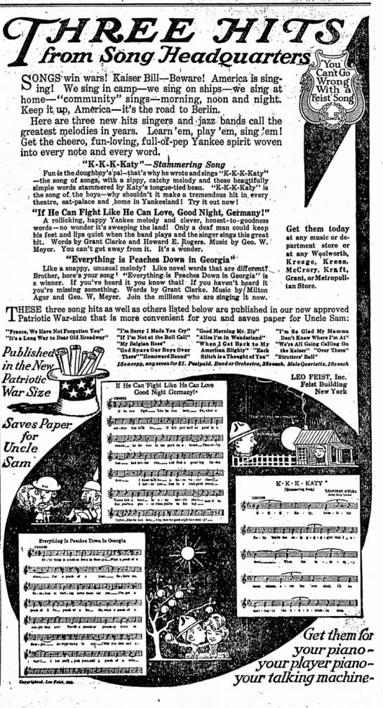 The Indianapolis Star, 15 September 1918, p. 2