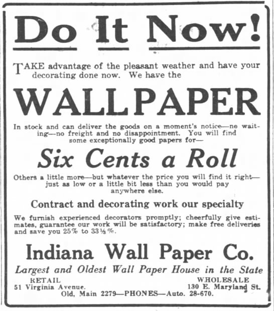 The Indianapolis News, 5 June 1919, p. 15.
