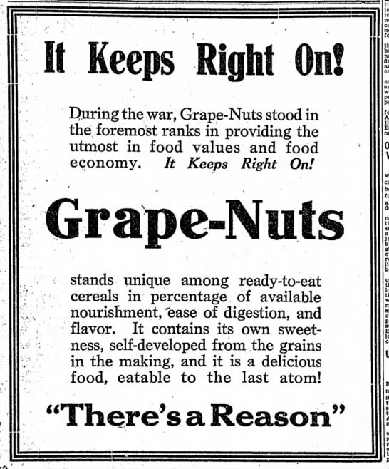 The Indianapolis Star, 20 January 1919, p. 5.