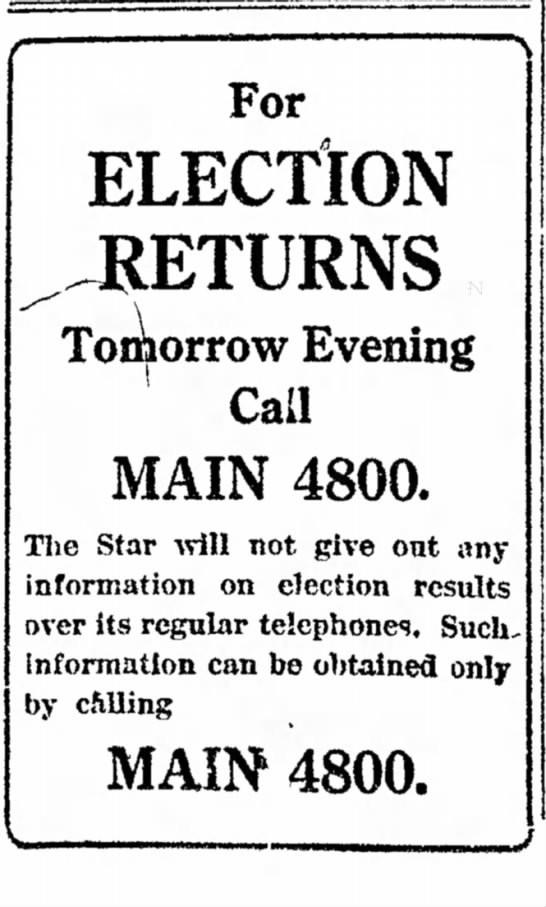 The Indianapolis Star, 4 November 1918, p. 1