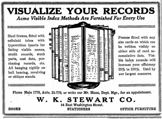 The Indianapolis Star, 21 August 1918, p. 7