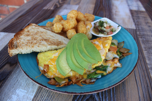 The Grilled Vegetable Omelet