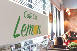 Welcome to Cafe on Lemon