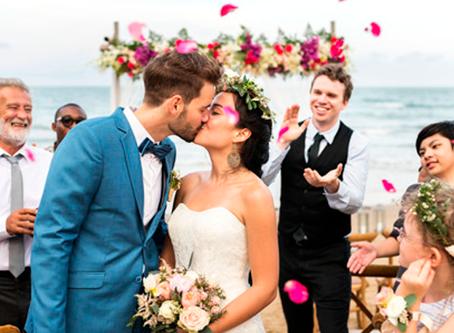 Três dicas imperdíveis para quem quer casar na praia