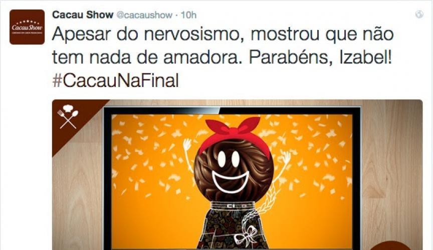 Twitter - Cacau SHow