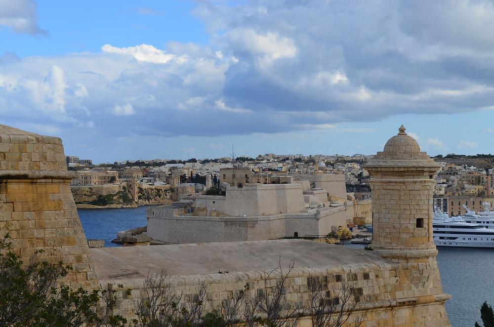 Malta Upper Barrakka Gardens