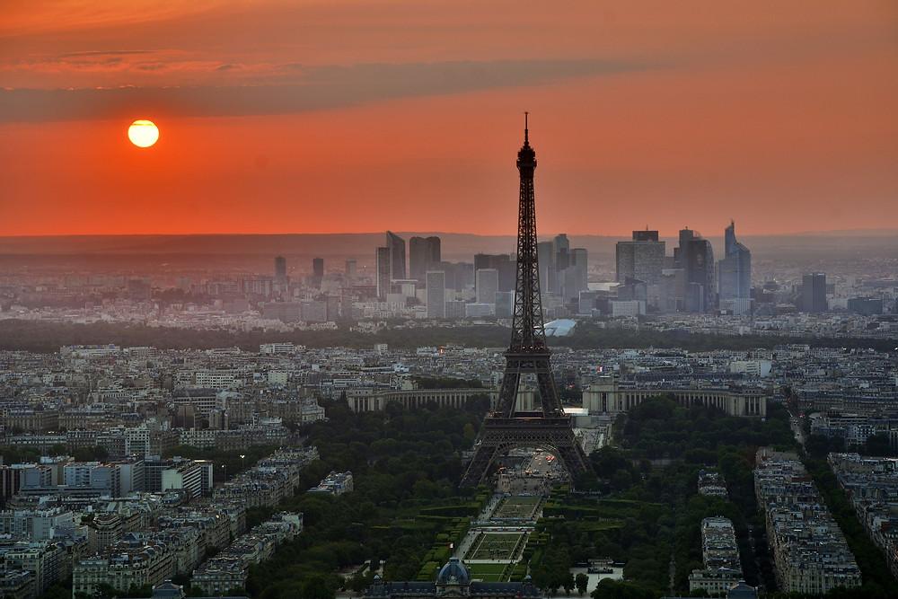 Lua de mel Paris