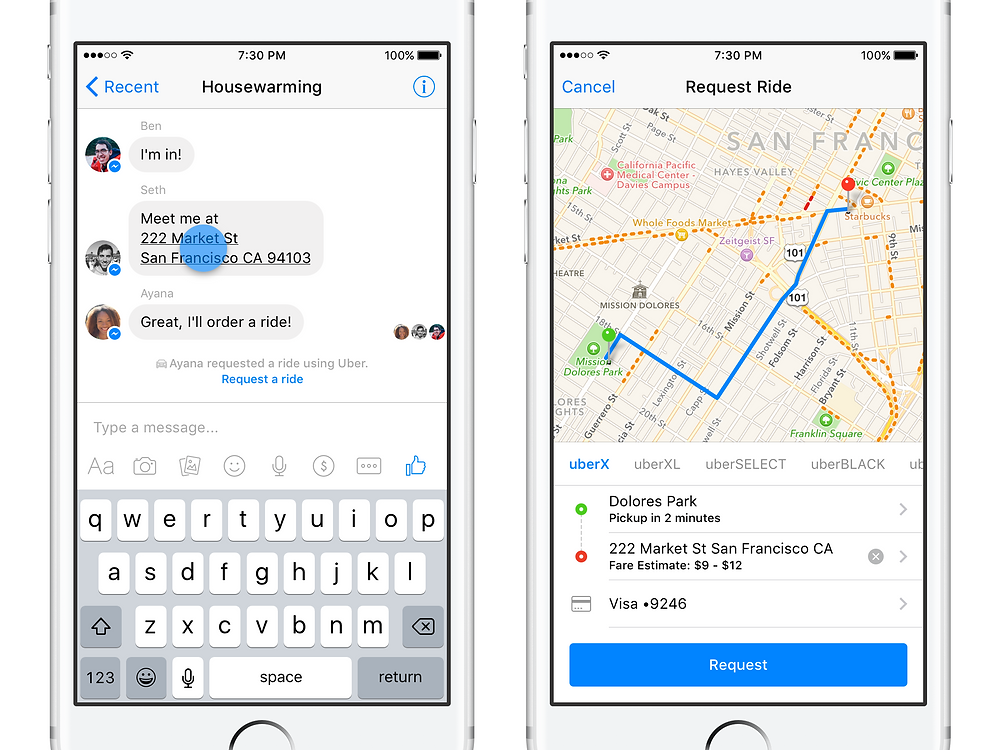 Chatbot Uber