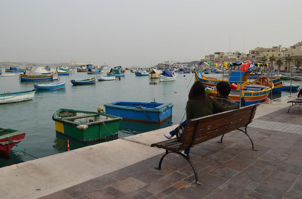 Marsaxlokke Malta