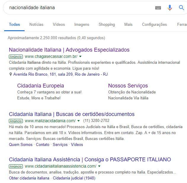 Rede de Pesquisa - Google Ads