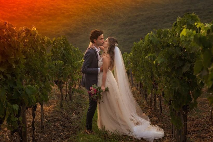 Sthefany Brito e Igor Raschkovscky : elopement wedding na Toscana (Foto: Sam Sacramento)