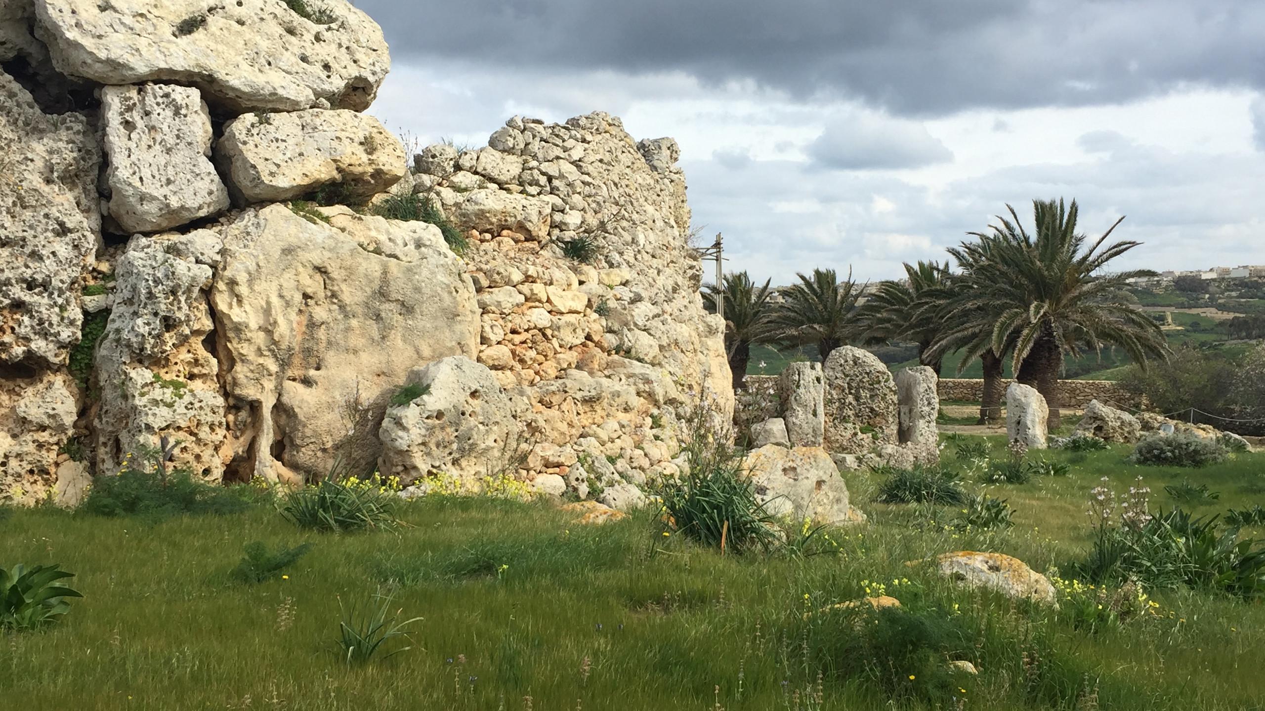 Malta Templos megalíticos / Ggantija
