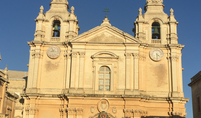 St Paul's Cathedral Mdina Malta