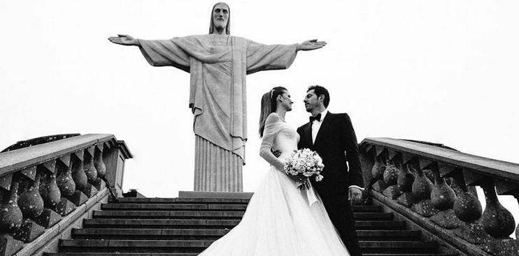 Casamento no Cristo Redentor - Rio de Janeiro