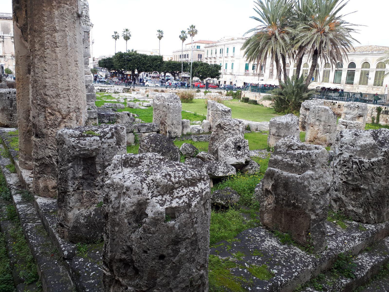 Templo de Apollo - Ortigia