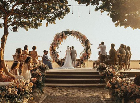 Destination Wedding: casamento no lugar dos seus sonhos