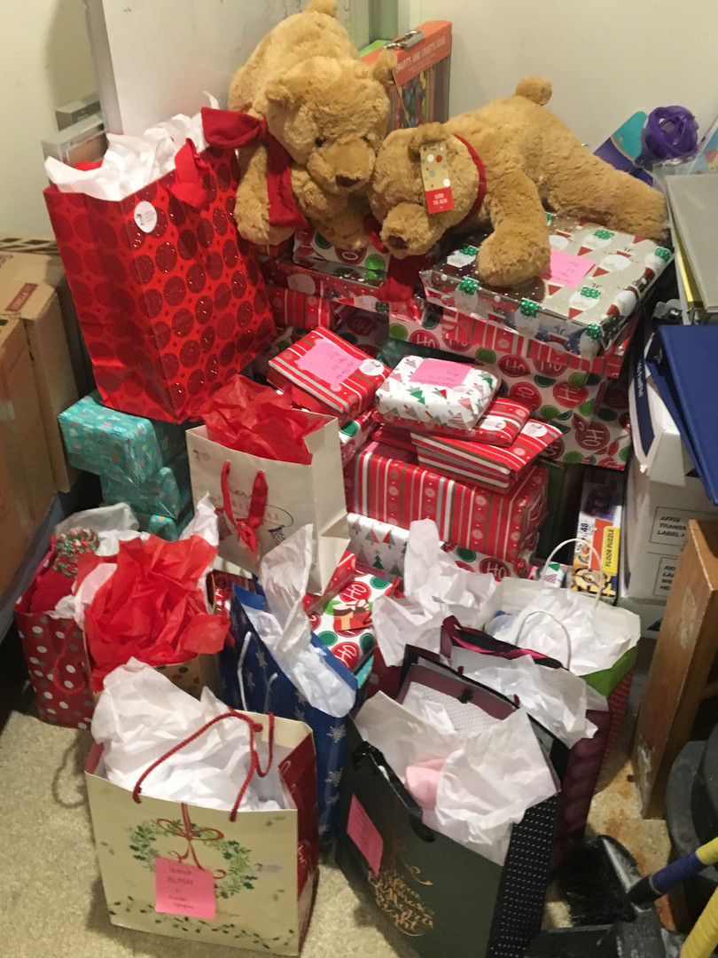 Tufts Christmas Delivery Day