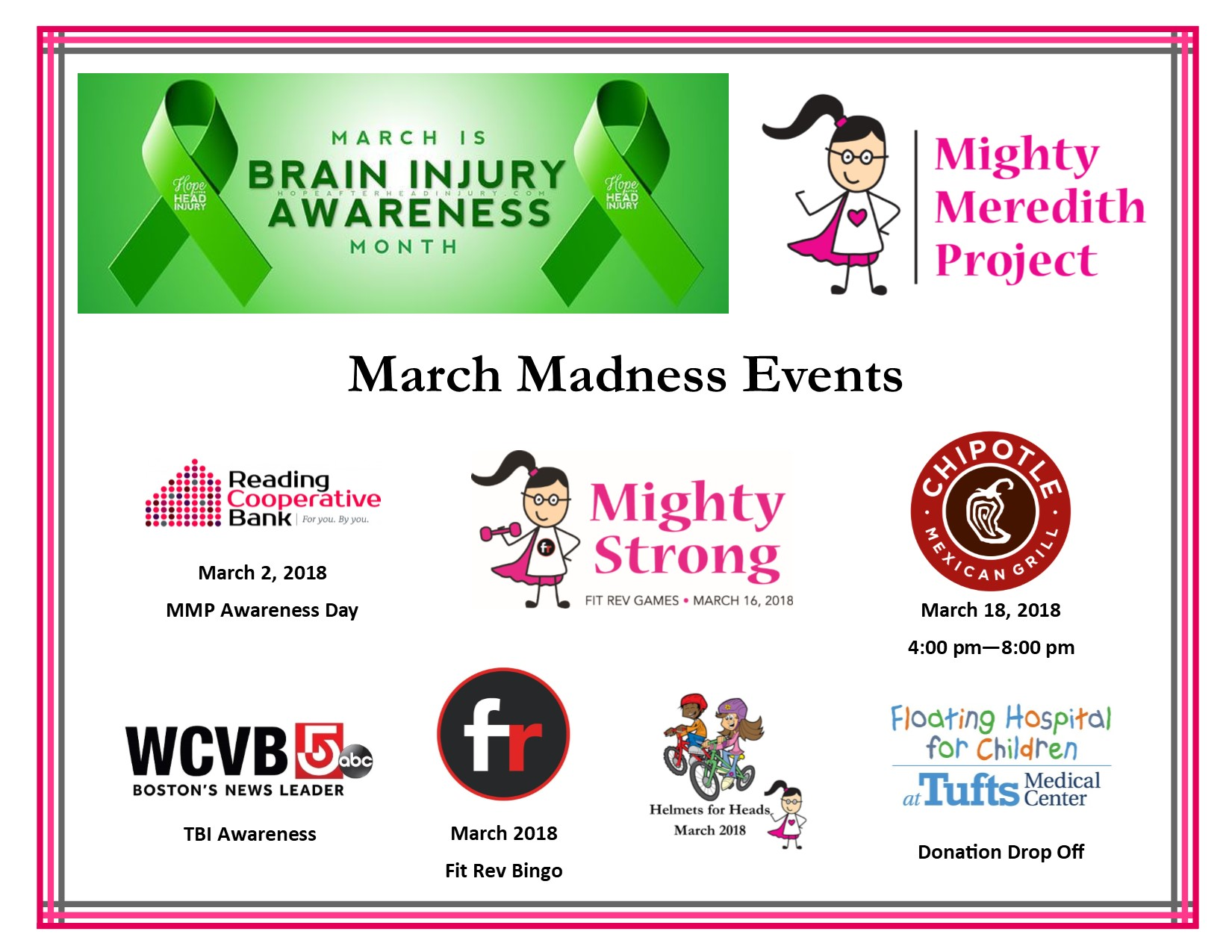 March Madness - TBI Awareness Month