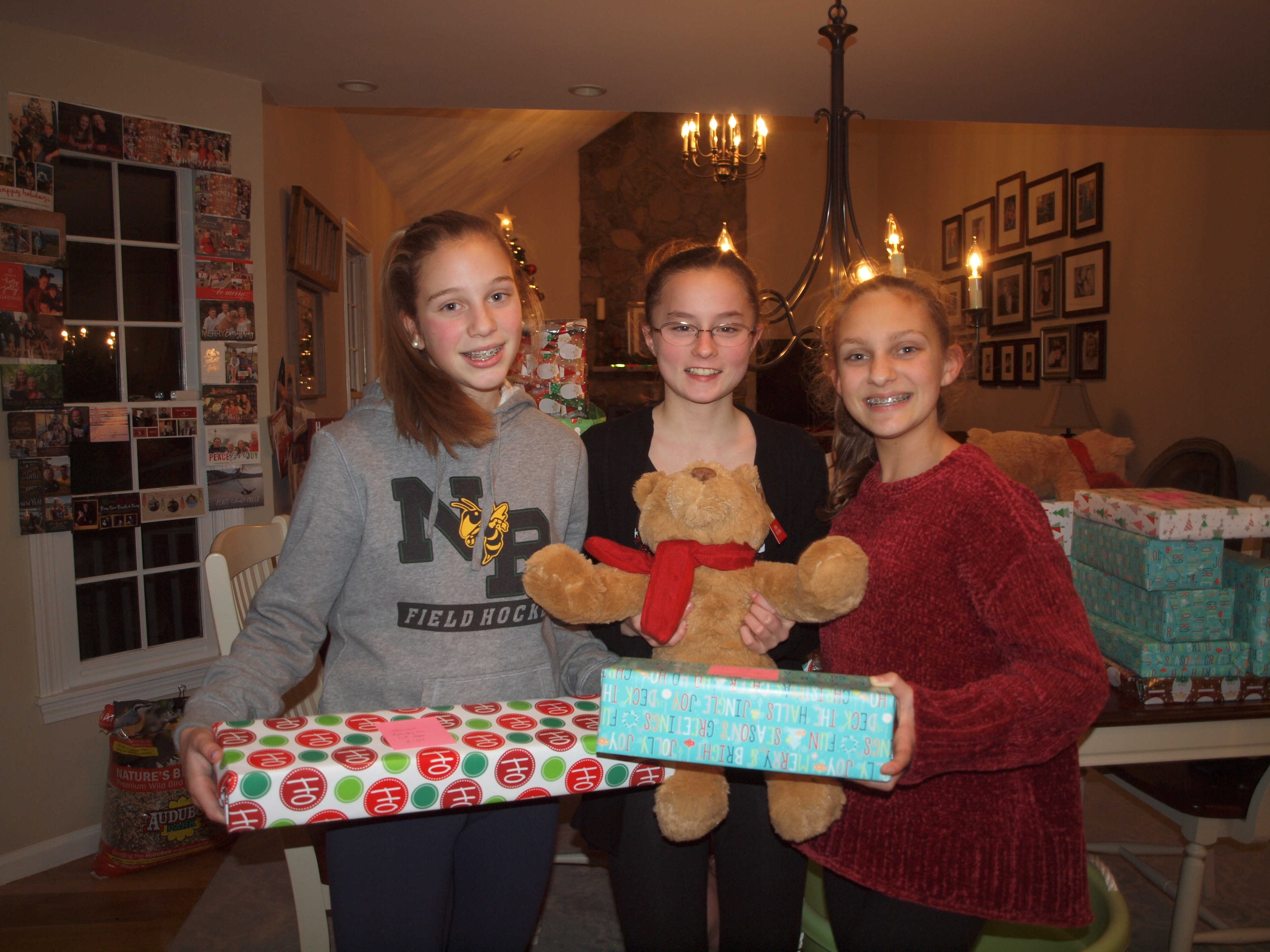2017 - Fill the Box Wrapping Party