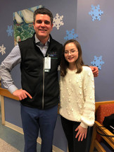 Meredith and Dr. Gaitanis - Chief of Neurology