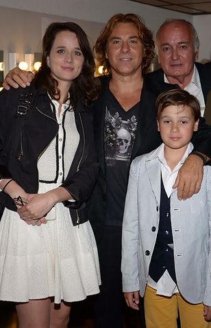 Avec Roberto Alagna et Jean-Louis Guille
