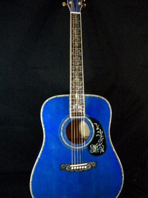 D45 Pacific Blue Flame Deluxe
