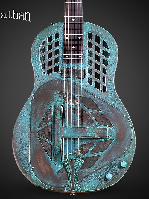 Jonathon Green Brass Tricone Resonator Guitar