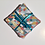 Thumbnail: Lot de 6 lingettes lavables géométrique multicolore