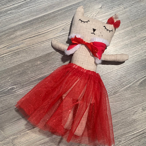 Poupée décorative chat