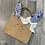 Thumbnail: Tote bag personnalisé lapinette bleu