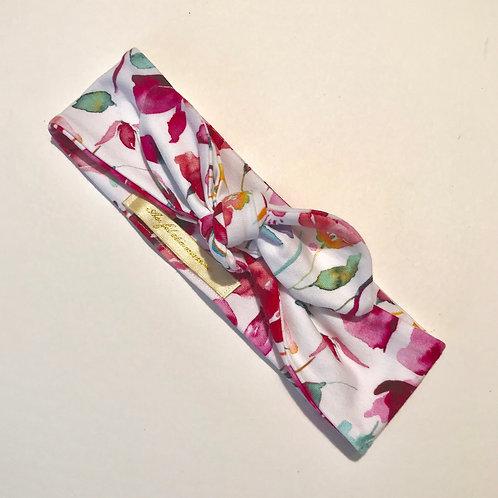 Bandeau réglable fleuris