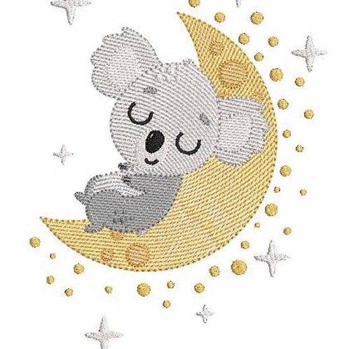 Coussin personnalisé koala