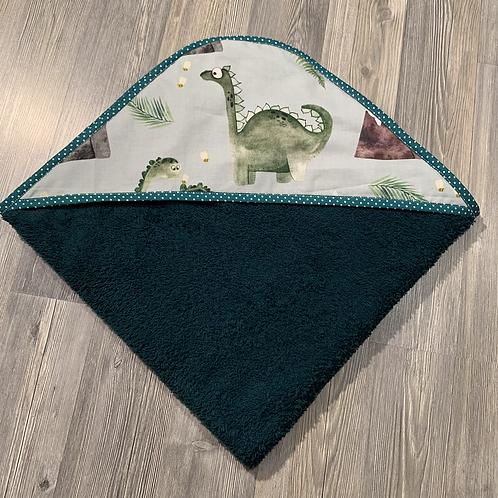 Cape de bain dinosaure