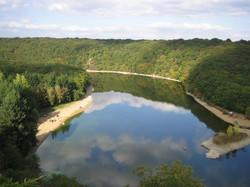 Forêt de Mervent et son lac