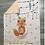 Thumbnail: Couverture renard et minky saumon