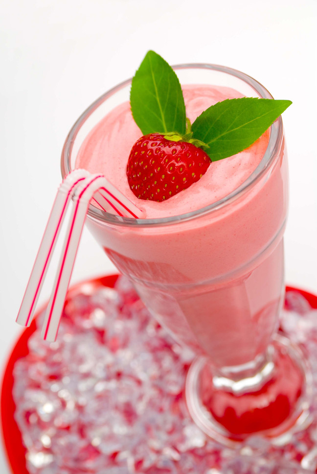 Featured Recipe: Healthy Strawberry Smoothie