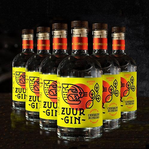 Zuur Gin 6 Unidades - Caixa