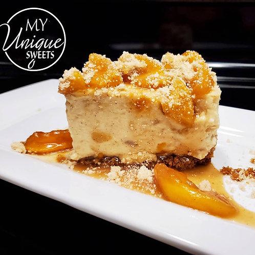 Peach Cobbler Cheesecake Class