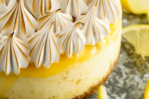 Lemon Meringue Cheesecake Classs