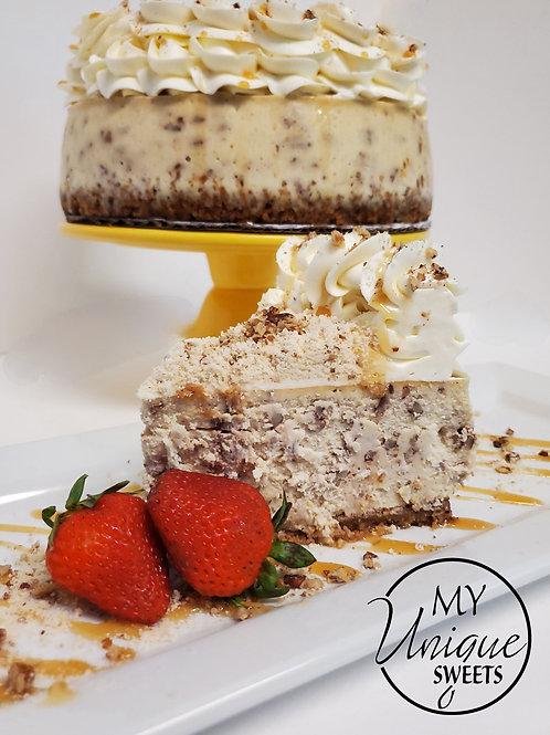 Butter Pecan Cheesecake Class