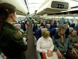 Affrètements Spéciaux avions passagers
