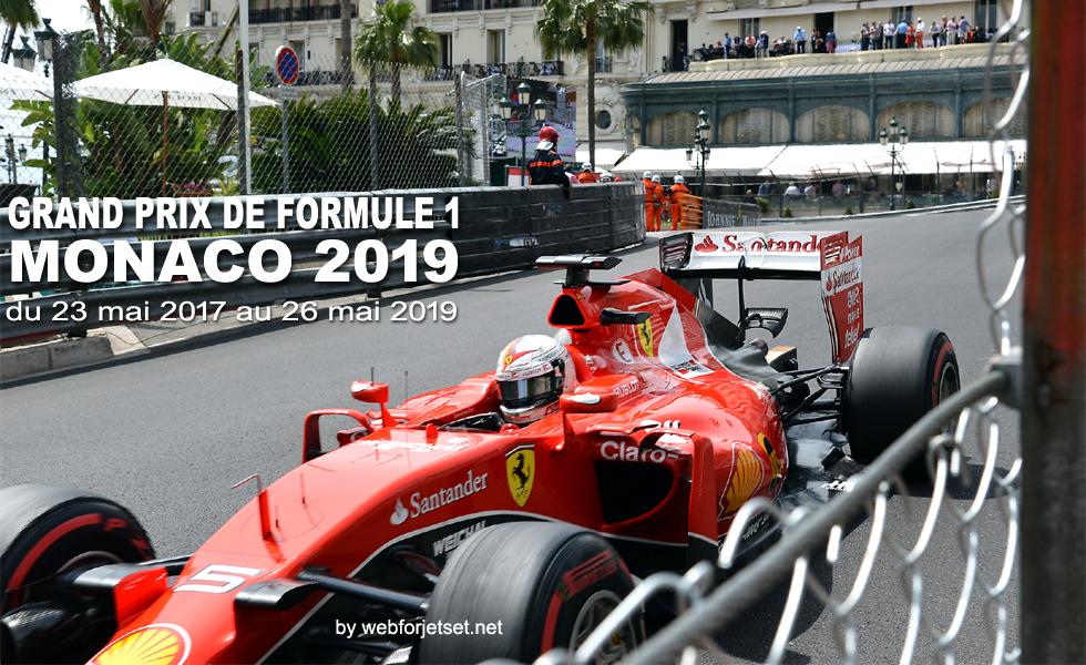 Grand Prix F1 de Monaco 2019